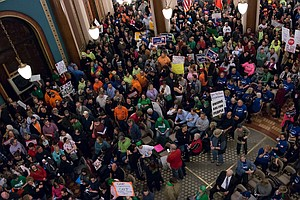 Iowa Moves To Restrict Collective Bargaining For Public S...