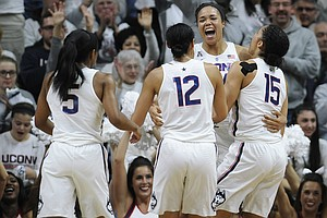UConn Women Win Historic 100th Game In A Row