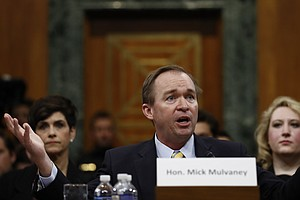 Senate Narrowly Confirms Mulvaney As Trump's OMB Director