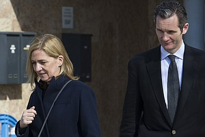 Spain's Princess Cristina Is Cleared In Fraud Trial; Her Husband Gets Prison ...