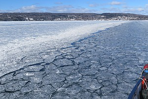For Islanders In Lake Superior, Warmer Winters Mean They Can't Drive