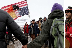 Protesters Leave Dakota Access Pipeline Area; Some Stay And Are Arrested