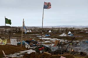 Protesters Leave Dakota Access Pipeline Area; Some Stay A...