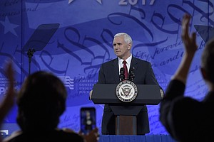 Vice President Pence To CPAC: 'We're In The Promise-Keeping Business'