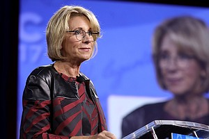 DeVos, Defiant At CPAC, Walks A Fine Line On Transgender Rights