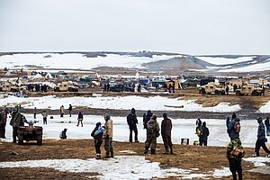 PHOTOS: The Final Hours Of A Dakota Access Pipeline Prote...