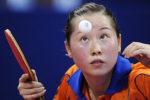 WATCH: 2 Table Tennis Titleholders Have Epic, 766-Shot Rally