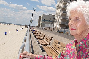 Lucille Horn, Who Was Nursed To Health In A Coney Island ...