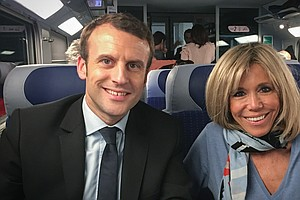 Political Outsider Emmanuel Macron Campaigns To 'Make Fra...