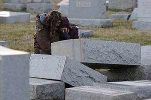 Headstones Vandalized At Jewish Cemetery In Philadelphia
