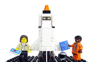 Women Of NASA To Be Immortalized — In Lego Form