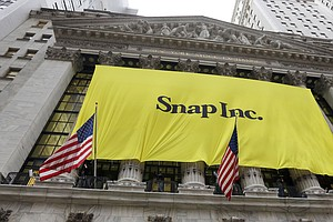 Snapchat Parent To Begin Trading On The New York Stock Exchange Thursday