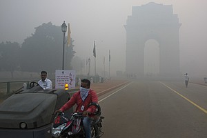 Smog In Western U.S. Starts Out As Pollution In Asia, Researchers Say
