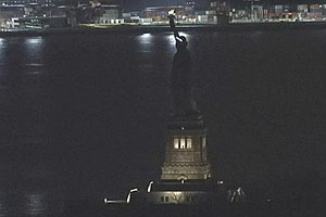 Statue Of Liberty's Lights Went Dark — 'Likely' Due to Re...