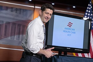 Paul Ryan Sells Health Care Bill As A 'Once-In-A-Lifetime...