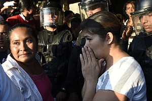Dozens Of Girls Killed After Fire In A Locked Room In Guatemala Youth Shelter