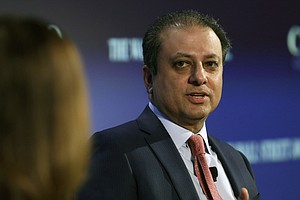 Justice Department Fires U.S. Attorney Preet Bharara