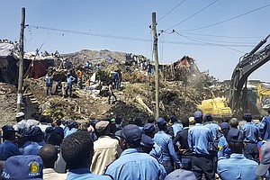 Dozens Dead Or Missing In Landslide At Ethiopian Garbage Dump