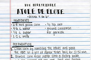 Students Serve Up Stories Of Beloved Family Recipes In A Global Cookbook