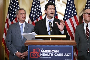 Paul Ryan Says Health Care Bill On Track, Despite Increasing GOP Opposition