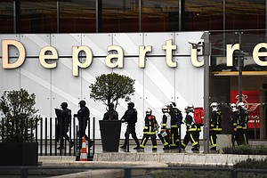 Man Shot Dead At France's Orly Airport After He Attempts ...