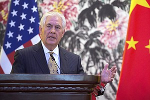 Rex Tillerson, Xi Jinping Meet In China As Secretary Of State Wraps Asia Tour