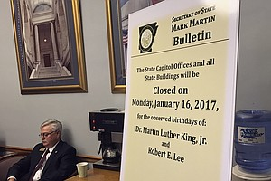 Arkansas To Split Its Holidays For Martin Luther King Jr....