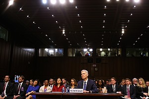 Republicans Praise Gorsuch, Democrats Decry Garland Treat...