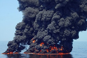 Researchers Test Hotter, Faster And Cleaner Way To Fight Oil Spills
