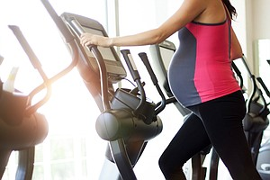 Exercising While Pregnant Is Almost Always A Good Idea