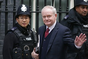 Martin McGuinness, A Former IRA Leader And A Peacemaker, Dies At 66