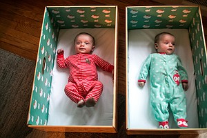 States Give New Parents Baby Boxes To Encourge Safe Sleep...