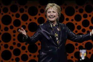 Hillary Clinton Faults Trump On Health Care And Lack Of W...