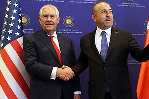 Tillerson Asserts 'Difficult Choices' Are Ahead For U.S. And Turkey