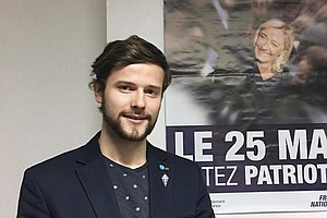 France's National Front Party Draws Young Voters To The Far-Right