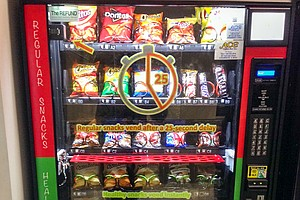 Forcing People At Vending Machines To Wait Nudges Them To...