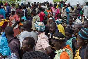As Thousands Flee South Sudan, Ugandan Refugee Camp Becom...