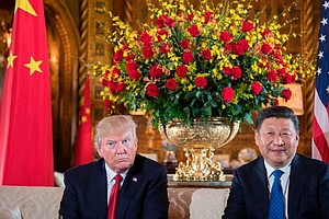 At Trump And Xi's Meetings, Uncomfortable Talks Are The O...