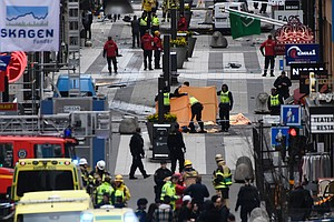 One Arrested After Deadly Truck Attack In Stockholm