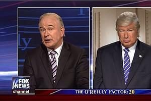'Saturday Night Live' Takes On Bill O'Reilly, Trump And T...