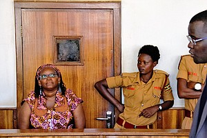 Ugandan Activist Nyanzi Arrested, Charged With Cyber Hara...