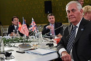 Before Their Tete-A-Tete, Tillerson And Russians Trade Ve...