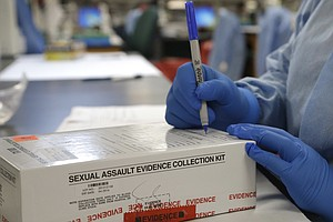 Donations From Drivers Might Help End Rape Kit Backlog In Texas