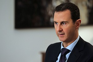 Bashar Assad Tells AFP That Chemical Attack Was Western '...