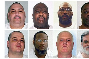 Courts Block 7 Executions Set For 11-Day Span In Arkansas