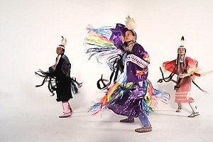 'Powwow Sweat' Promotes Fitness Through Traditional Dance