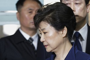 Ousted South Korean President Park Geun-hye Is Formally I...