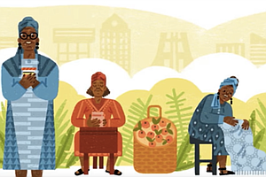 How Did A Jam Queen From Ghana Get To Be A Google Doodle?