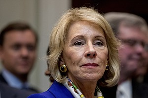 DeVos Meets With A Key Union Leader; The Supreme Court Hears A Voucher-Relate...
