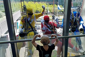 Power Rangers Bring Mighty Morphin Delight To Kids In Hospital